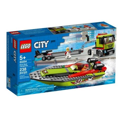 Конструктор LEGO City Перевізник гоночного катера