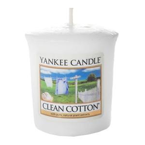 ЯНКІ КЕНДЛ Свічка ароматична Clean Cotton 49гр