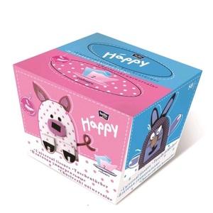 БЕЛЛА хустинки універсальні, двошарові, Bella Baby Happy 40+40 шт.