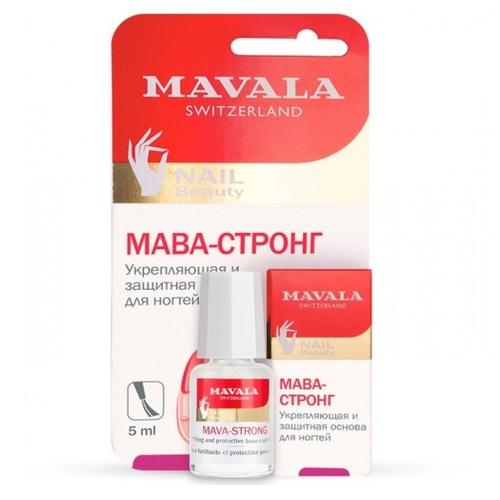 МАВАЛА Укрепляющая и защитная основа для ногтей 5мл - фото 1 | Сеть аптек Viridis