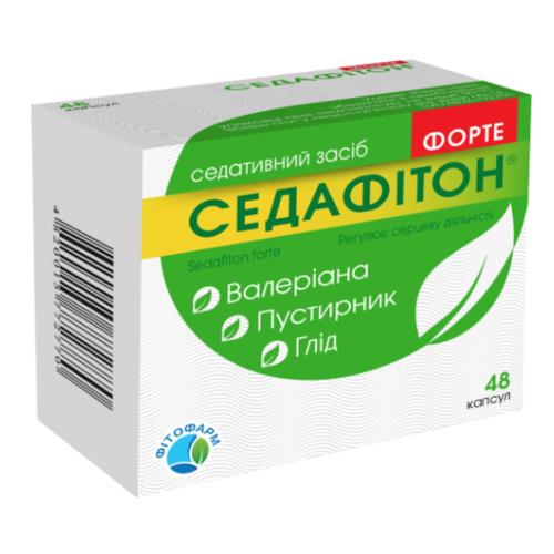 СЕДАФІТОН ФОРТЕ КАПС. №48 - фото 1 | Сеть аптек Viridis