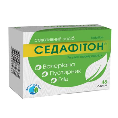 СЕДАФИТОН ТАБ. №48 - фото 1 | Сеть аптек Viridis