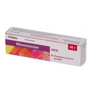 МЕНОВАЗАН МАЗЬ 40Г
