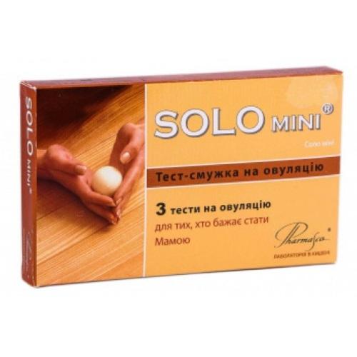 ТЕСТ-ПОЛОСКА Д/ОПР.ОВУЛЯЦИИ SOLO MINI №3 - фото 1 | Сеть аптек Viridis