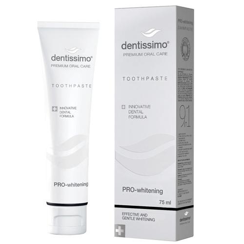 ДЕНТИССИМО Зубная паста про-отбеливание Pro-Whitening 75мл - фото 1 | Сеть аптек Viridis