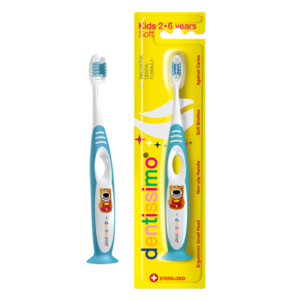 ДЕНТІССІМО Зубна щітка для дітей 2-6 років м'яка щітина