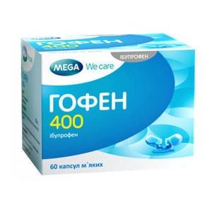 ГОФЕН 400 КАПС. №60 без ндс