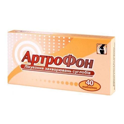 АРТРОФОН ТАБ. №40 ПДВ - фото 1 | Сеть аптек Viridis