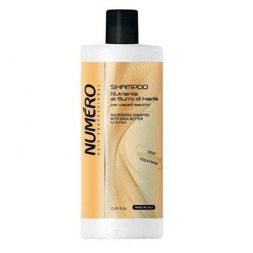 БРЕЛИЛ НУМЕРО Шампунь питательный для волос с маслом карите и авокадо 1000мл - фото 1 | Сеть аптек Viridis