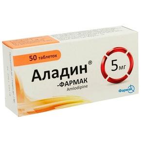 АЛАДИН-ФАРМАК ТАБ. 5МГ №50
