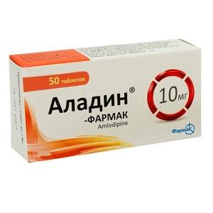 АЛАДИН-ФАРМАК ТАБ. 10МГ №50