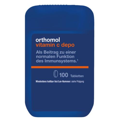 ОРТОМОЛ Vitamin C depo (для підтримки імунної системи) таб. № 100 - фото 1 | Сеть аптек Viridis