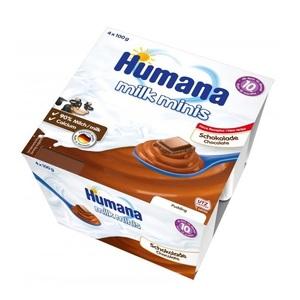 ХУМАНА Пудинг шоколадный для пит. детей от 10 мес. и старше 400г (4 * 100г)