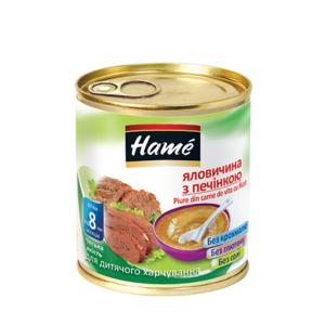 ХАМЕ Пюре говядина с печенью