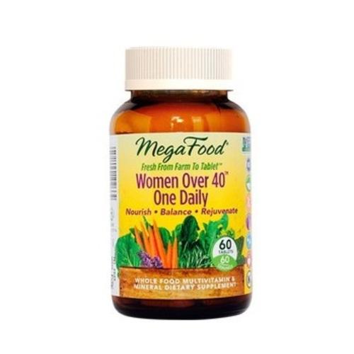 МЕГАФУД Мультивитамины Одна таблетка в день для женщин после 40, 60шт