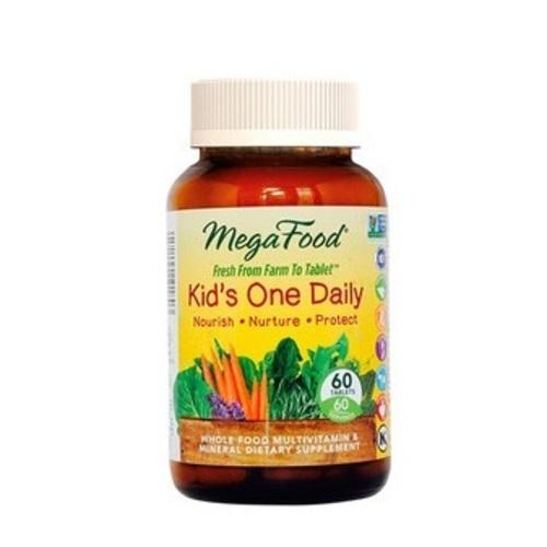 МЕГАФУД Мультивитамины Одна таблетка в день для детей, 60шт