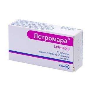 ЛЕТРОМАРА ТАБ. 2,5МГ №30