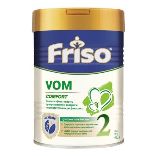 ФРИСО Смесь Фрисовом СOMFORT 2 с пребиотиками 400г - фото 1 | Сеть аптек Viridis