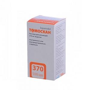 ТОМОСКАН Р-Р Д/ИН. 370МГ/МЛ 100МЛ ФЛ. №1
