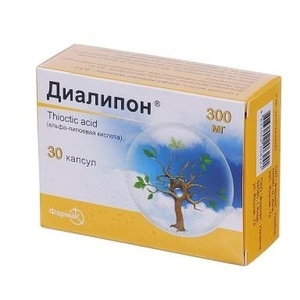 ДІАЛІПОН КАПС. 300МГ №30
