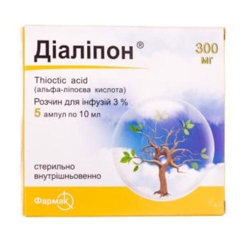 ДІАЛІПОН АМП. 3% 10МЛ №5 - фото 1   Сеть аптек Viridis