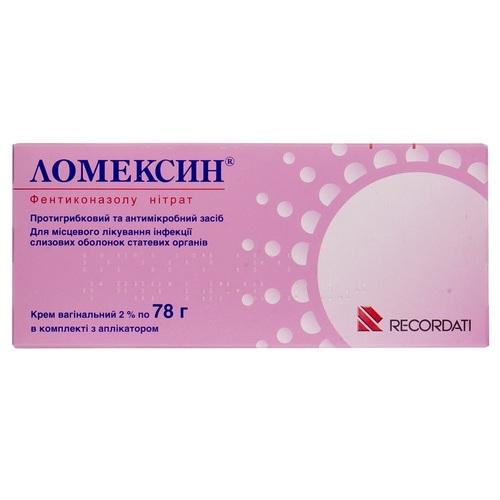 ЛОМЕКСИН КРЕМ ВАГИНАЛ.2% ТУБА 78Г - фото 1 | Сеть аптек Viridis