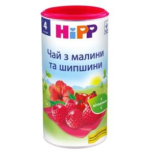 HIPP ЧАЙ МАЛИНА-ШИПОВНИК 200Г