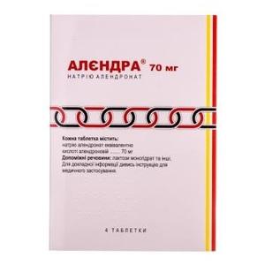АЛЕНДРА ТАБ. 70МГ №4