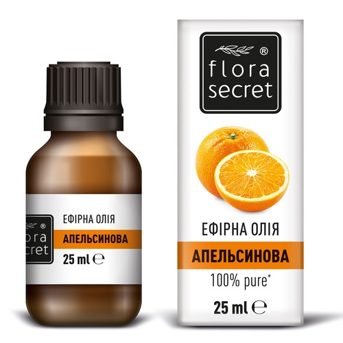 ФЛОРА СІКРЕТ Апельсинова олія 25мл - фото 1 | Сеть аптек Viridis