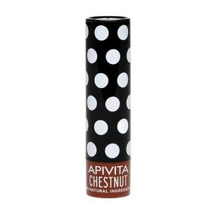 АПИВИТА Бальзам для губ с каштаном, с оттенком 4,4 г