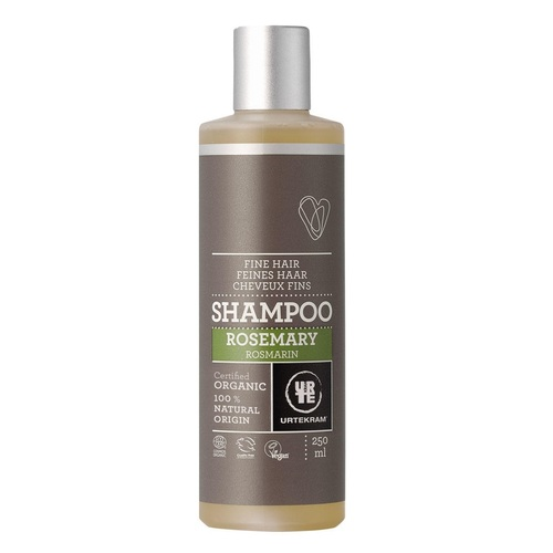 УРТЕКРАМ Органічний шампунь Розмарин, для тонкого волосся. 250мл. - фото 1   Сеть аптек Viridis