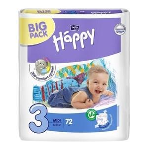 БЕЛЛА Подгузники д/дет. Baby Happy Midi (5-9кг) 72шт