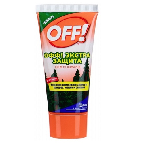 ОФФ Экстра защита Крем от комаров 50мл