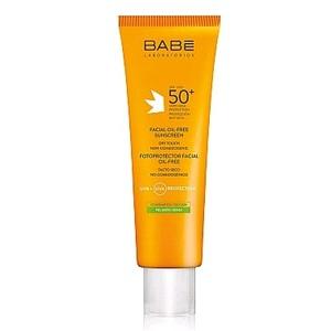БАБЕ Солнцезащитный Крем для жирной и комбинированной кожи с SPF50+ для ежедневного ухода 50мл