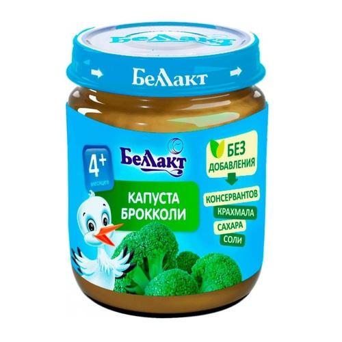 БЕЛЛАКТ Пюре овощное Брокколи 100 г с 4 мес. - фото 1 | Сеть аптек Viridis
