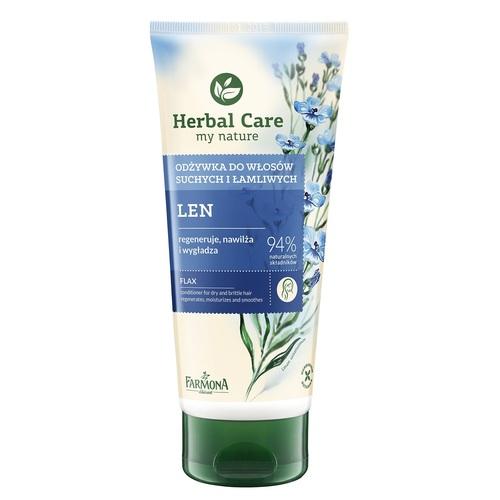 ХЕРБАЛ КЕА Кондиционер для сухих ломких волос Льняной 200мл - фото 1   Сеть аптек Viridis