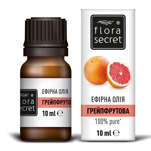 ФЛОРА СІКРЕТ Грейпфрутова олія 10мл - фото 1 | Сеть аптек Viridis