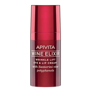 АПИВИТА WINE ELIXIR Крем-лифтинг для борьбы с морщинами вокруг глаз и губ 15 мл