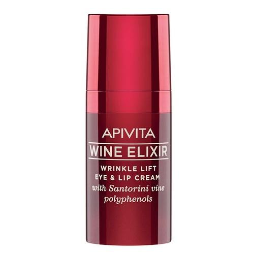 АПИВИТА WINE ELIXIR Крем-ліфтинг для боротьби зі зморшками навколо очей та губ 15 мл
