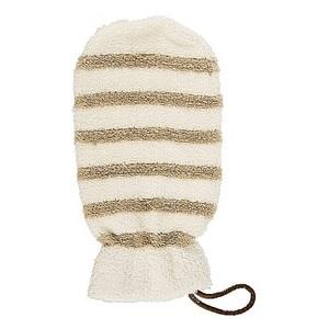 СУАВІПЬЕЛЬ Банна мочалка-рукавиця натуральна (рамі, бавовна)