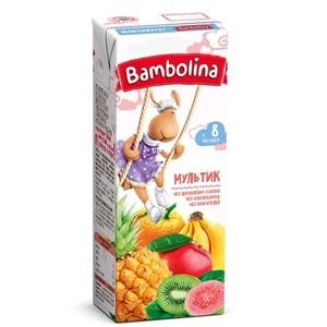 БАМБОЛИНА Сок Мультифруктовый 200 мл с 8 мес.