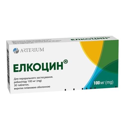 ЭЛКОЦИН ТАБ. 100МГ №30 - фото 1 | Сеть аптек Viridis