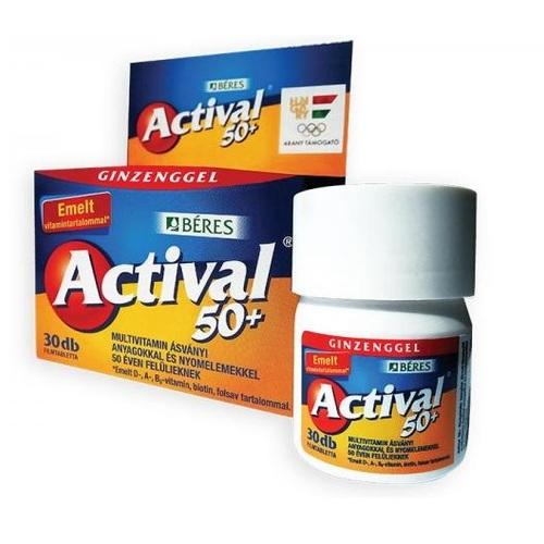 АКТИВАЛ 50+ ТАБ. №30 - фото 1 | Сеть аптек Viridis