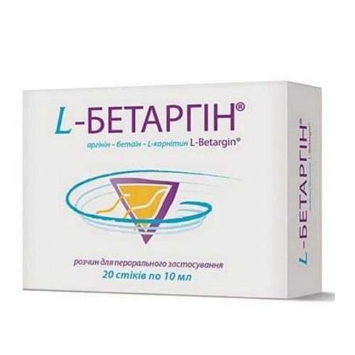 Л-БЕТАРГІН Р-Н 10МЛ СТІК №20 - фото 1 | Сеть аптек Viridis