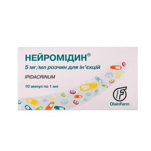 НЕЙРОМИДИН ИН. 0,5% 1МЛ АМП. №10
