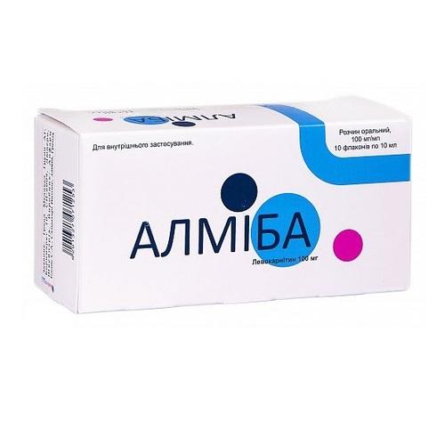 АЛМІБА Р-Н 100МГ/МЛ 10МЛ №10 - фото 1 | Сеть аптек Viridis