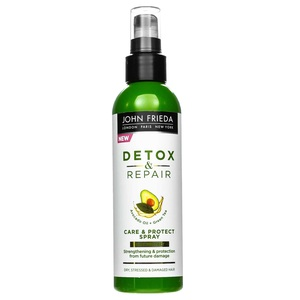 ДЖОН ФРИДА Спрей несмываемый для укрепления волос с термозащитой Detox & Repair 200мл