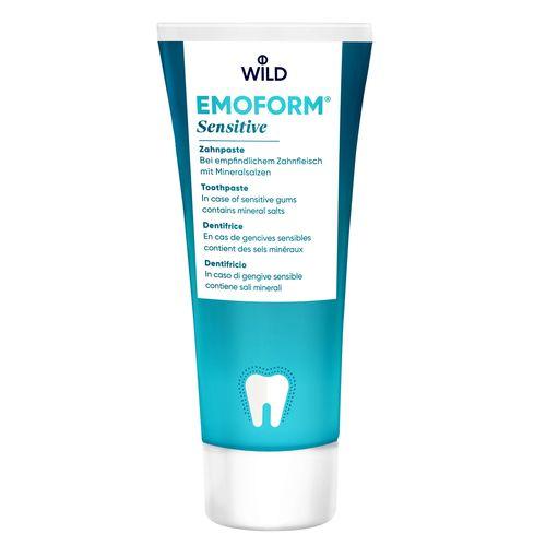 ЗУБНАЯ ПАСТА Emoform Для чувствительных зубов, 75мл - фото 1 | Сеть аптек Viridis