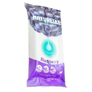 САНВІТА Серветки вологі Naturelle Blackberry 15шт