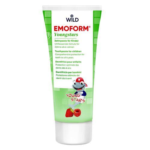 ЗУБНАЯ ПАСТА для детей Emoform Youngstars, 6-12, 75мл - фото 1 | Сеть аптек Viridis